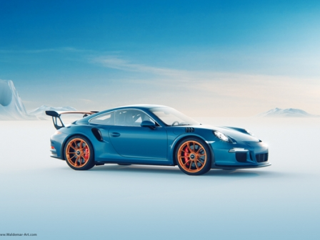 Porsche 911 GT3-RS Wallpaper