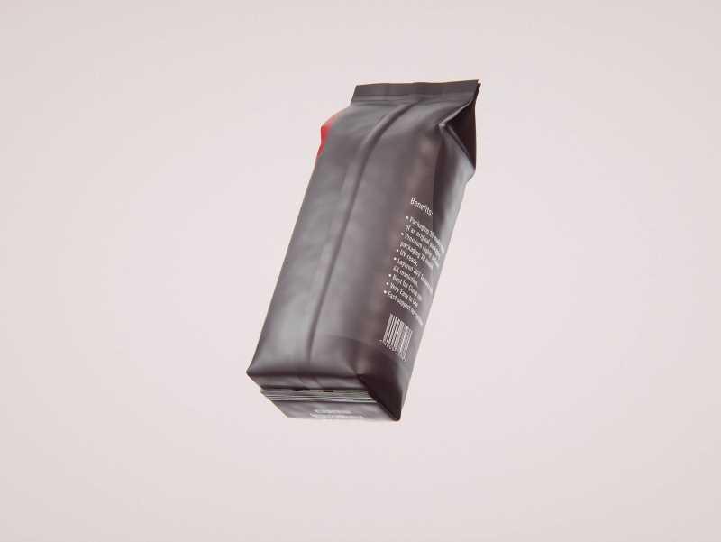 BIO Coffee Bag 1Kg packaging 3D model