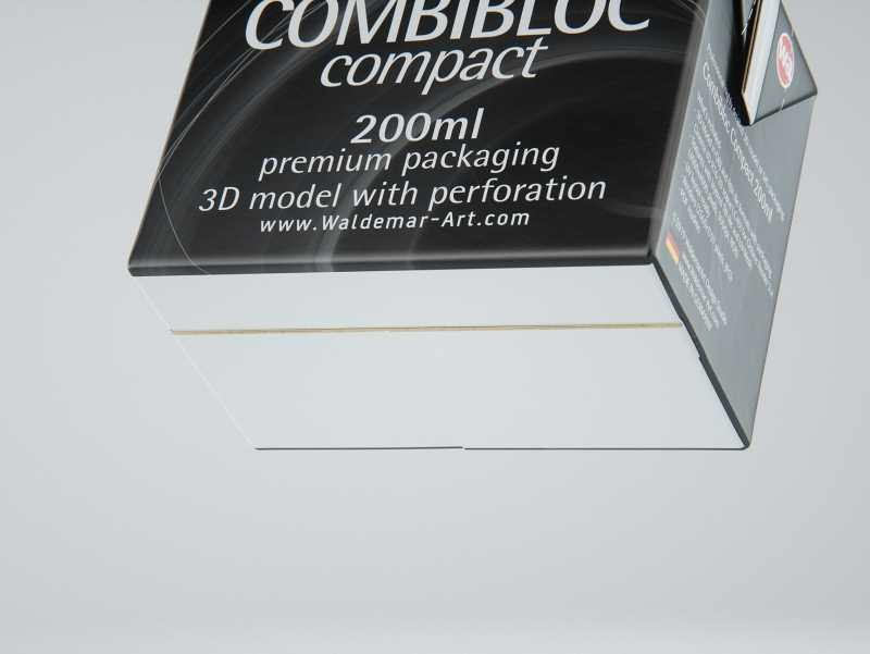 SIG combiBloc Compact 200ml with perforation, straw hole and
