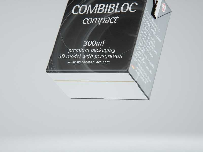SIG combiBloc Compact 300ml with perforation, straw hole and