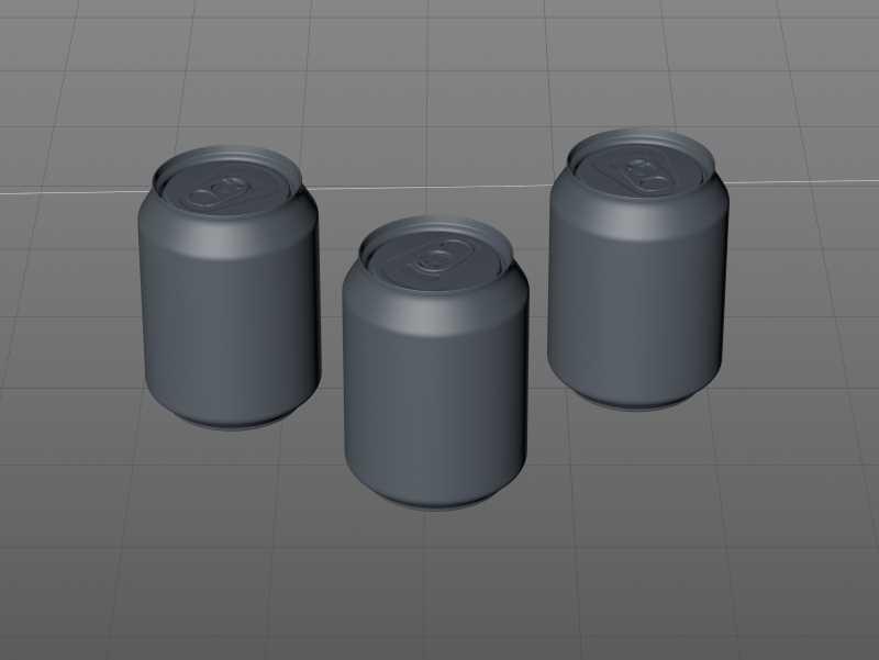 Ball/Rexam Soda Metal Can 250ml Premium 3D model pack