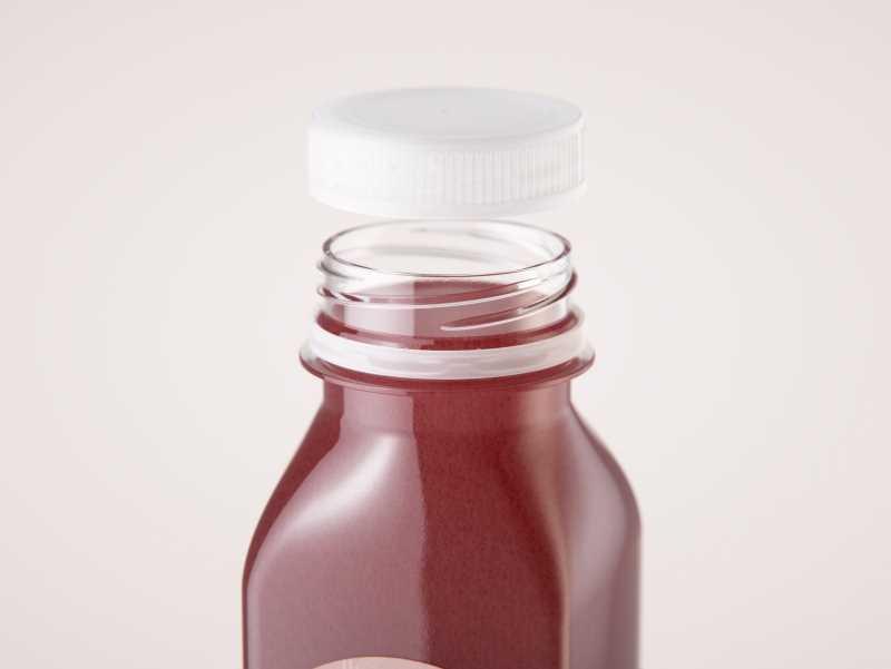 Smoothie Plastic Bottle 300ml packaging 3d model