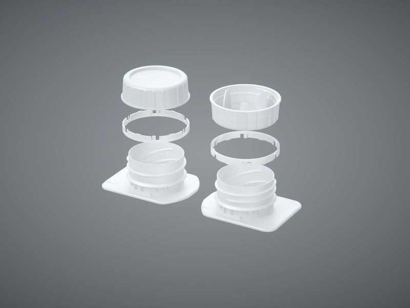 Tetra Pack Brik Slim 1000ml with Helicap23 Premium packaging 3D model pak