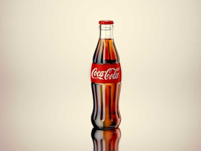 Free 3D Model of Coca-Cola bottle
