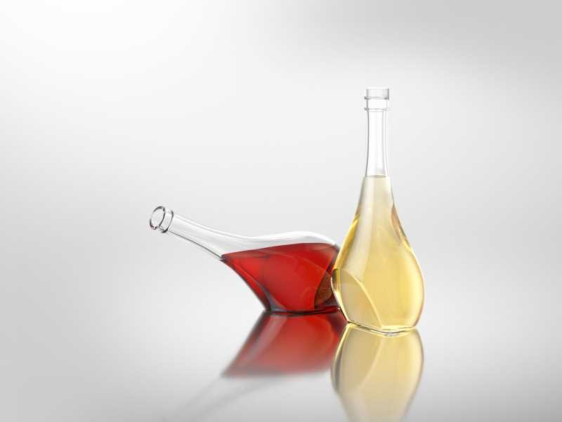 Marquise - packaging 3D model of bottles