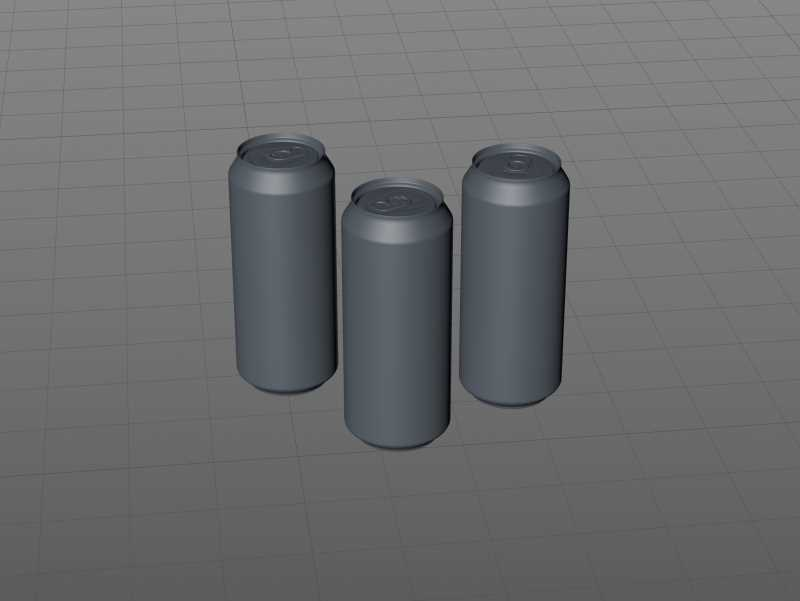 Ball/Rexam Standard Beer/Soda Can 473ml 3D model