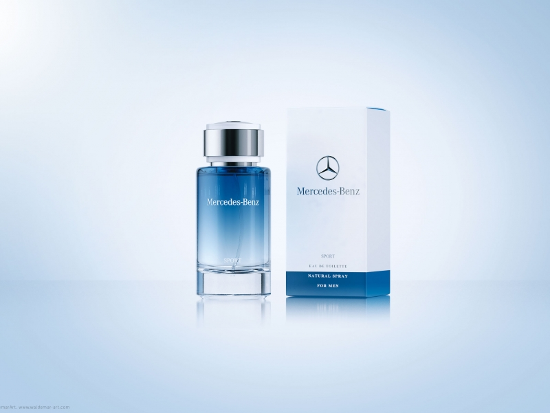Mercedes benz sport perfume packaging 3d visualization for Mercedes benz perfume