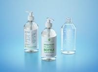 Anticeptic Gel Plastic Bottle 500ml (sharp egdes) packaging 3D model