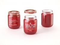 Packaging 3D model of Baby Food Glass Jar 125g