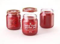 Packaging 3D model of Baby Food Glass Jar 250g