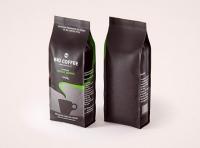 Bio Coffee beans Plastic Bag 1000g (1KG) packaging 3d model