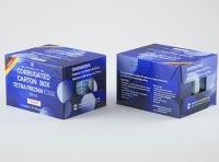Corrugated Cardboard Box for x12 Tetra Prisma Square & Edge 500ml packaging 3d model pak