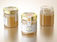 Danish Honey Glass Jar 225g packaging 3d model