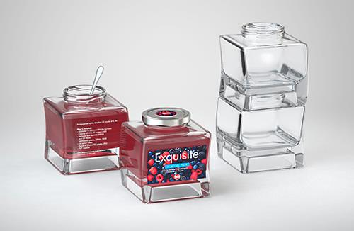 Exquisite - 3d model of a glass jar for jams or jelly