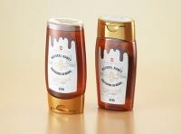 Flower Honey Plastic Pack 350g Packaging 3D model
