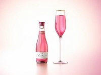 Fruit Secco glass bottle 200ml packaging 3d model with a Pull-off tab