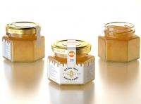 German Honey Glass Jar 125g packaging 3d model
