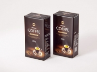 Ground Coffee Packaging 250g 3d model pack