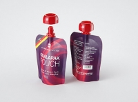 Packaging 3D model of Gualapack Pouch 90g with BabyCap