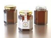 Italian Honey Glass Jar 225ml packaging 3d model