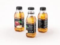 Juice Plastic Bottle 330ml Premium 3D model pack
