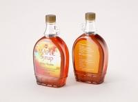 Maple Syrup Patterned Glass bottle 500ml 3D model pack