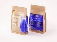 Paper Coffee Bag 250g with ZIP closure packaging 3D model