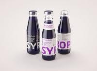 Syrup/Juice Glass Bottle 500ml packaging 3D model pack