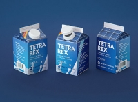 Tetra Rex 500ml carton packaging 3d model with TwistCap