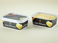 Vegan Spreadable Butter plastic container 250g packaging 3D model