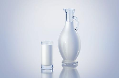 Amphora - 3D model of the bottle for dairy products