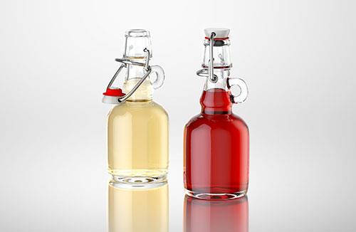 Eva - 3d model of a bottle for wine, vinegar or oil