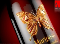 MARIPOSA - Packaging design of a Premium Red Wine