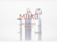 MILKO - Packaging design for Super-Premium Dairy Products