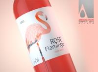 ROSE FLAMINGO - Packaging Design of Rose wine