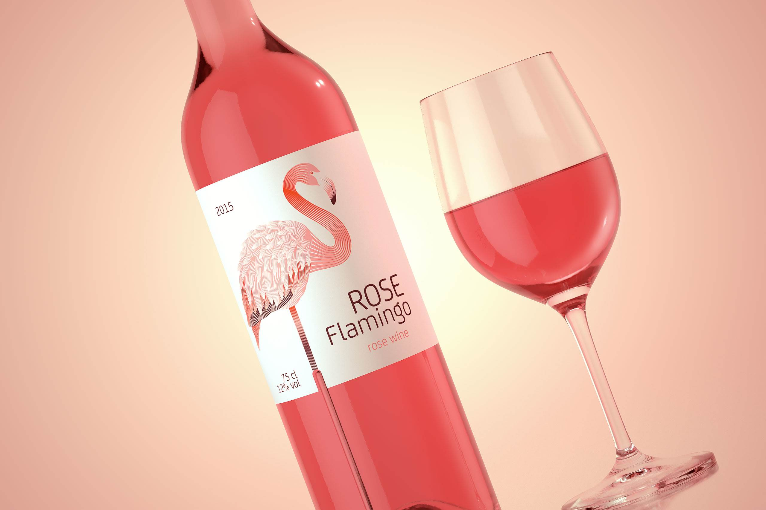 Rose Wine - Rose Flamingo